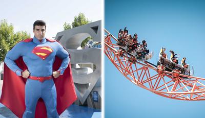 1 día Parque Warner + 1 día Parque de Atracciones